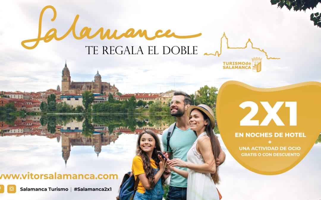 Salamanca, noches de hotel gratis y una actividad de ocio gratis o con descuento