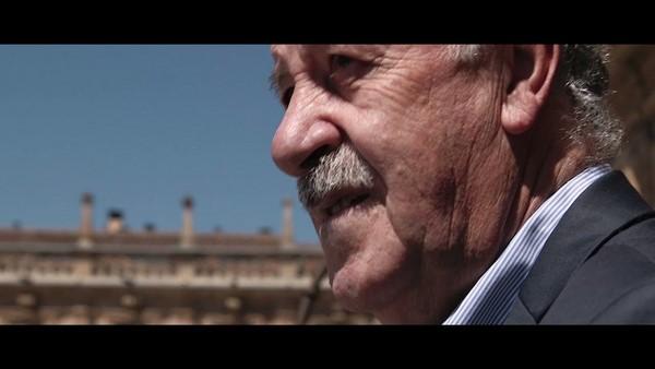 Vicente del Bosque, el mejor embajador de la ciudad